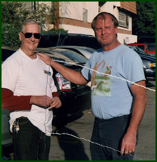 Jim Watson and friend Jim Callahan