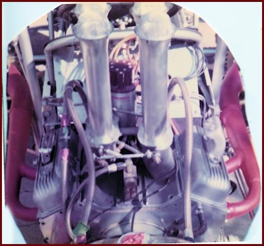 James E. Watson Midget Chevy V-4 Engine. (SoCal