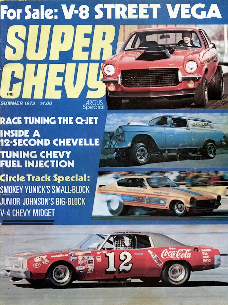 Super Chevy Magazine featured Jim's V-4 Midget.